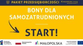 W Małopolsce zwiększono środki na bony dla samozatrudnionych