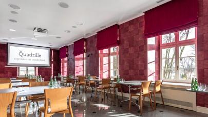 Konferencja w niezwykłym stylu - Hotel Quadrille