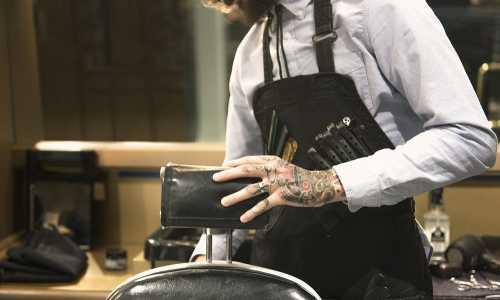 Pod krawatem, w kasku, z brzytwą lub kuflem - idealna franczyza dla panów