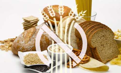 Słodkości bez glutenu - piekarnia z przekreślonym kłosem