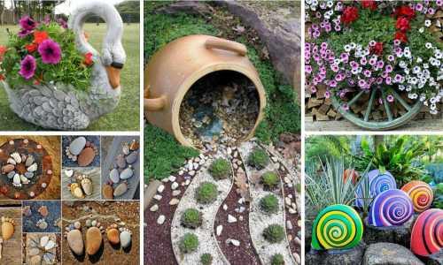 Dekoracje ogrodowe - dobry pomysł na biznes na wsi