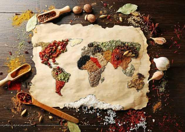 Franczyza - smaki z czterech stron świata